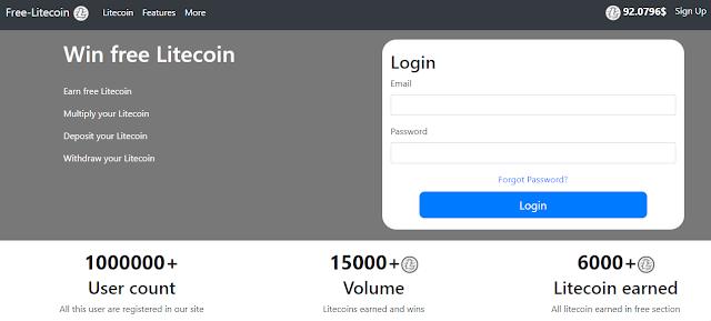 ganar litecoin gratis online