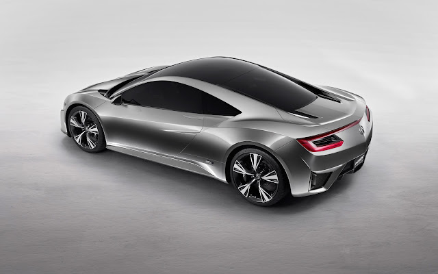 Acura NSX Supercar Concept - Wallpaper