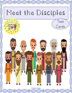 https://www.teacherspayteachers.com/Product/12-Disciples-of-Jesus-Task-Cards-FREEBIE-3079940