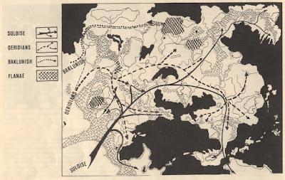 Human Migrations into the Flanaess - Greyhawk Folio, 1980