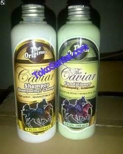 Shampoo dan Conditioner Caviar