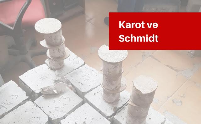 Gün Gün İnşaat: Karot ve Schmidt