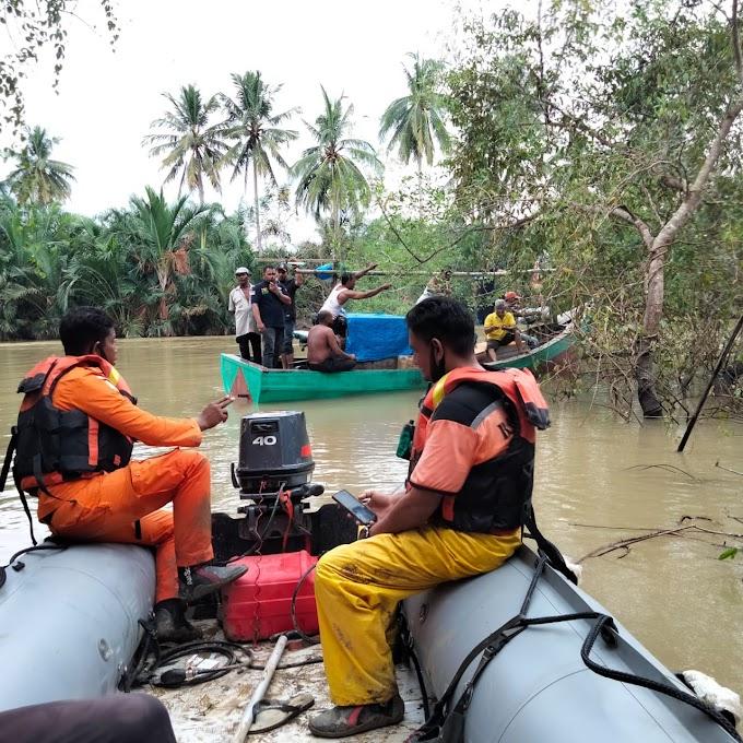 Pencari udang Galah Tenggelam  Di Sungai Peureulak