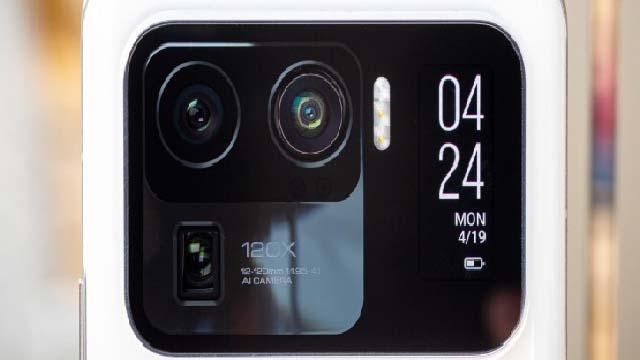 شركة شاومي تخطط لإصدارهاتف رائد مع تقنية UWB وكاميرا تحت الشاشة