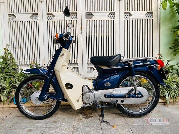 Honda Super Cub 82 đã 23 tuổi 'còn zin' giá 80 triệu tại Hà Nội