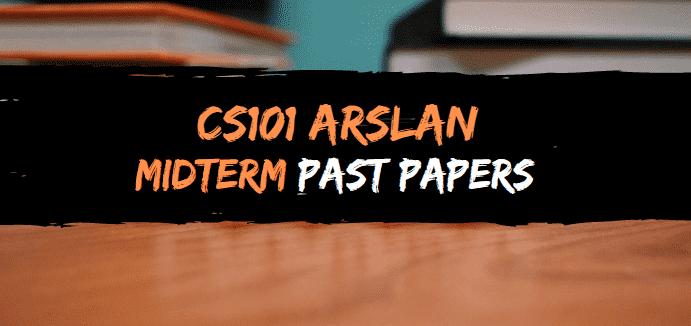 cs101 arslan