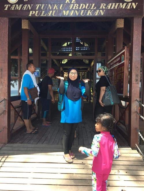 Ke Sabah kita - Pulau Sapi dan Pulau Manukan