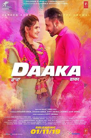 Poster Of Punjabi Movie Daaka 2019 Full HD Movie Free Download Watch Online