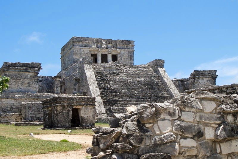 Tulum – the Most Visited Coastal Maya Site, Mexico