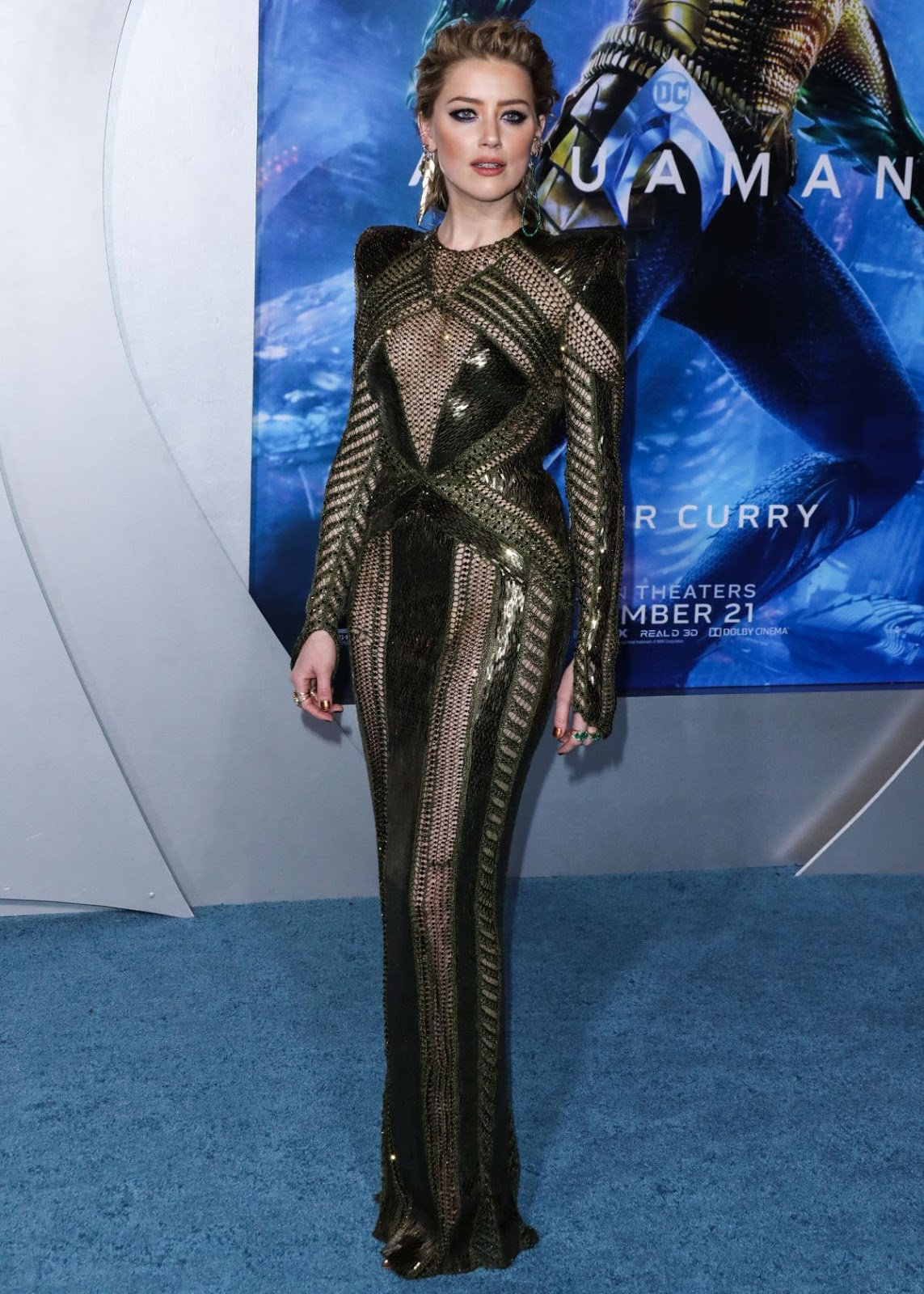 Amber Heard Aquaman Premiere in LA