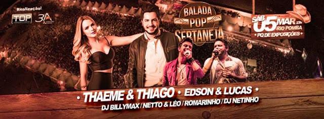 show Thaeme e Thiado Rio Pomba MG