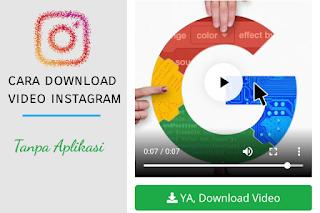 Cara Menyimpan Video Dari Instagram Ke Galeri Hp Android dan Iphone
