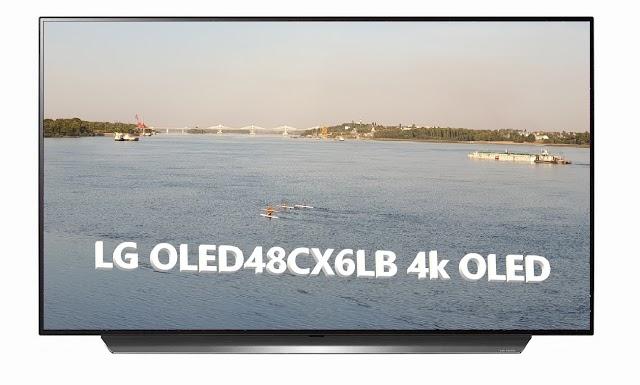 LG OLED48CX6LB premium 4k OLED TV