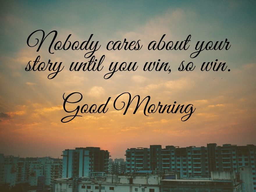 City good morning images with quotes