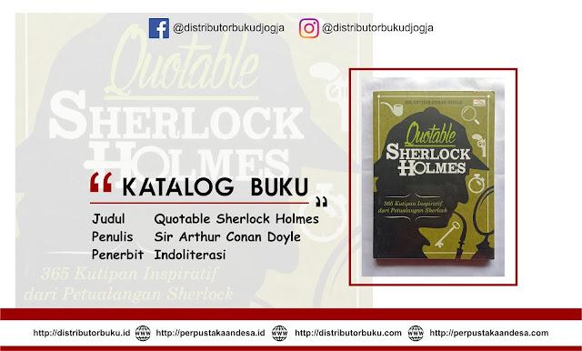 Quotable Sherlock Holmes