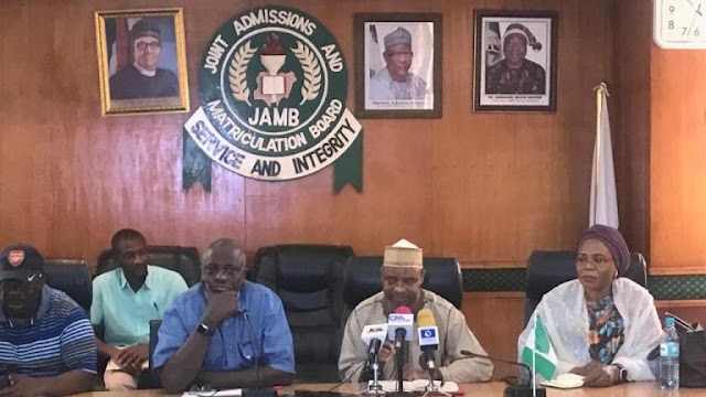 Breaking.... JAMB SUSPENDS THE USE OF NIN FOR THE 2020 UTME