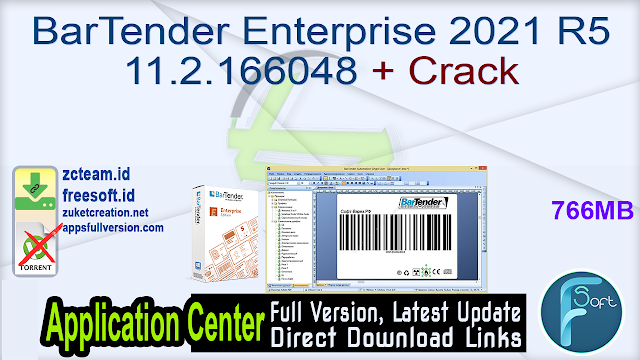 BarTender Enterprise 2021 R5 11.2.166048 + Crack_ ZcTeam.id