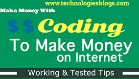 Make Money Online by CodingMake Money Online by Coding