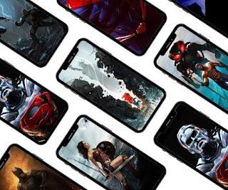 26 DC Super heroes phone wallpapers