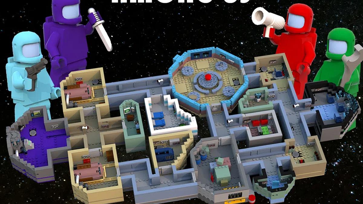 レゴアイデアで『アマング・アス』が製品化レビュー進出!2021年第1回1万サポート獲得デザイン紹介