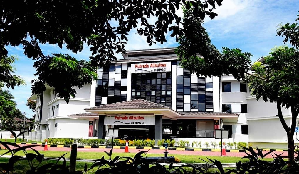 Putrade Allsuites @ Royal Perak Golf Club Hotel Suite Selesa Di Ipoh