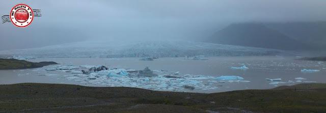 Laguna glaciar Fjarsárlón, Islandia