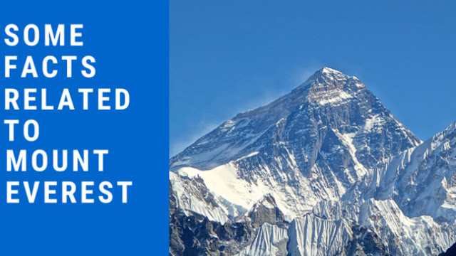 Some facts related to Mount Everest in HIndi