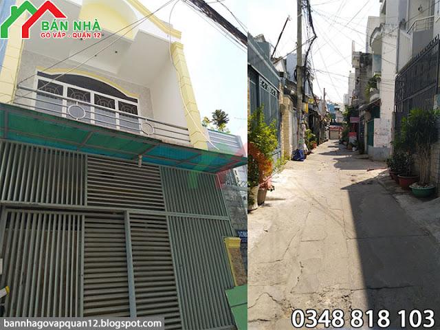 Nhà hẻm Lê Văn Thọ phường 9 Gò Vấp