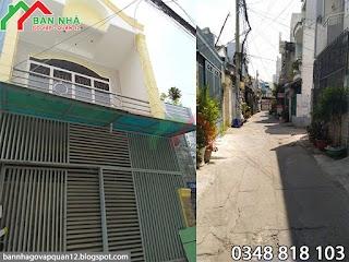 [ 3.6 tỷ ] Bán nhà hẻm Lê Văn Thọ phường 9 Gò Vấp - 3.7x11.5 ( MS 012 )