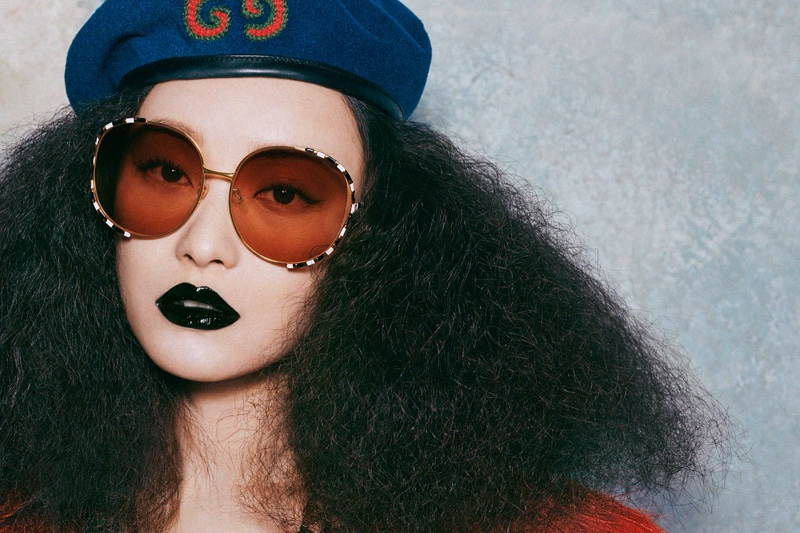 Gucci Eyewear Fall/Winter 2019 Campaign featuring Ni Ni