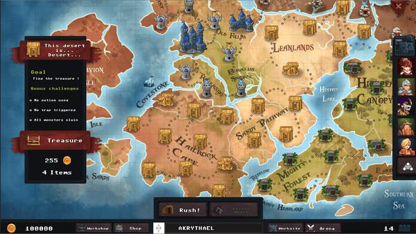 Dungeon Rushers Full Free Game