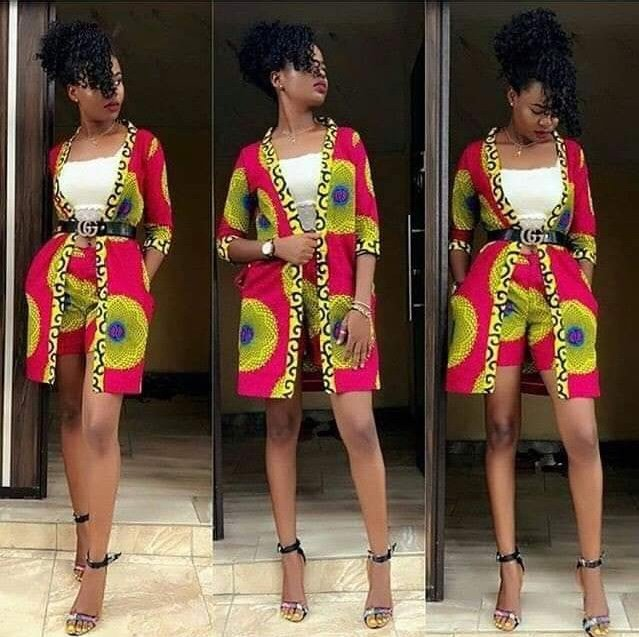 Beautifully photos of designers Ankara dresses and African print dresses