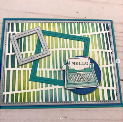 Hello by Vicki features Serene Stripes and My Type by Newton's Nook Designs; #newtonsnook