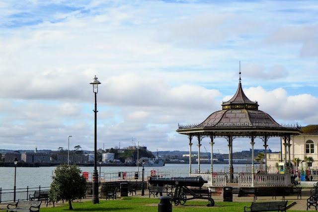 Cork to Cobh by train: Victorian gazebo in Kennedy Park