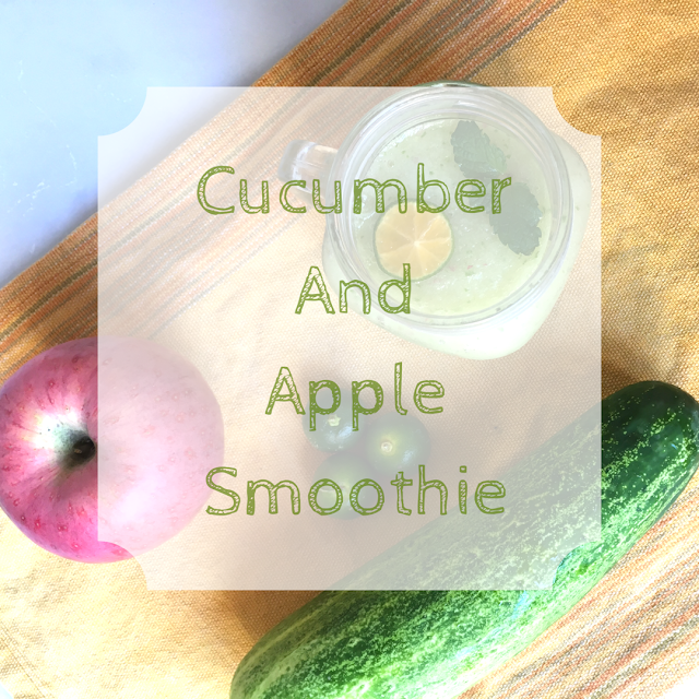 Cucumber and Apple Smoothie
