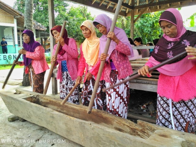 Kesenian Gejog Lesung Desa Wisata Kebonagung Bantul