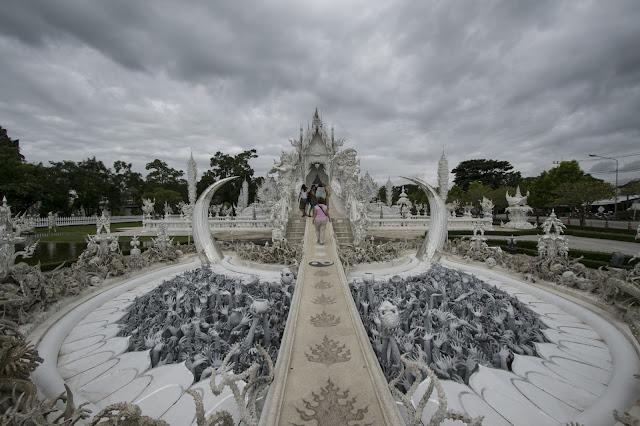 White temple-Chiang Rai