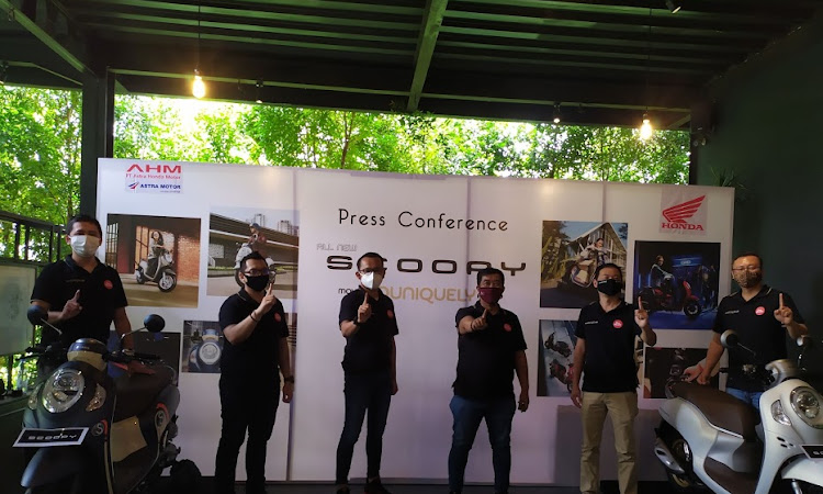 All New Honda Scoopy Resmi Diperkenalkan Kepada Konsumen di Kalbar