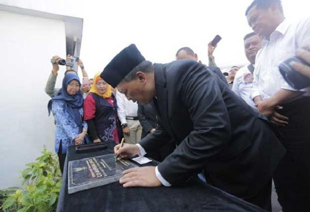 Walikota Bandung Resmikan Kampung Wisata Braga