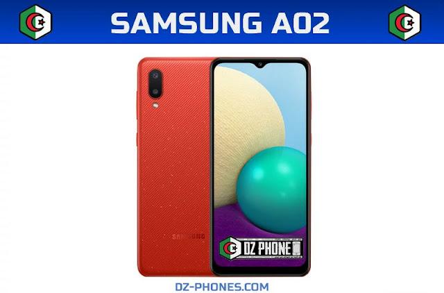 سعر Samsung A02 في الجزائر و مواصفاته Samsung A02 Prix Algerie
