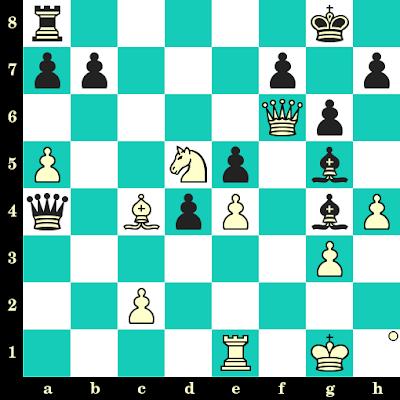 Les Blancs jouent et matent en 2 coups - Garcia Fuentes vs Saad Belouadah, Tromsoe, 2014