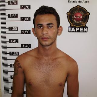 Presidiário é levado para hospital apos ser ferido com cerca 12 perfuração de estoque em Cruzeiro do Sul