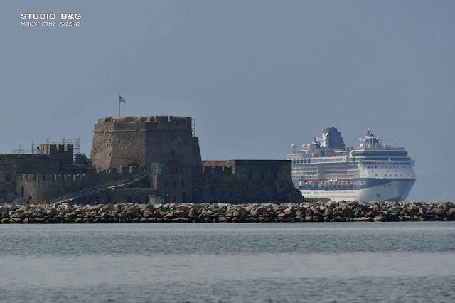 Γιατί το τεράστιο κρουαζιερόπλοιο Celebrity Constellation ήρθε εν μέσω πανδημίας στο Ναύπλιο