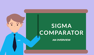 Sigma comparator - construction and working | The Mechanical post