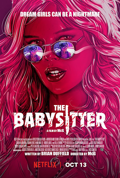 Poster of The Babysitter 2017 Full Movie [English-DD5.1] 720p HDRip ESubs Download