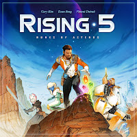 Rising 5 board game