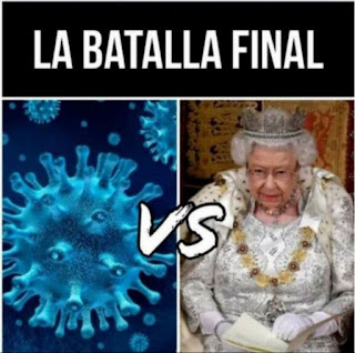 Virus vs reina Inglaterra