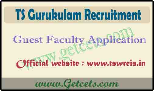 TS Gurukulam guest faculty notification 2020, coe lecturer apply online