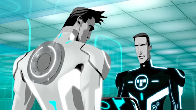 Tron Uprising new and old Tron