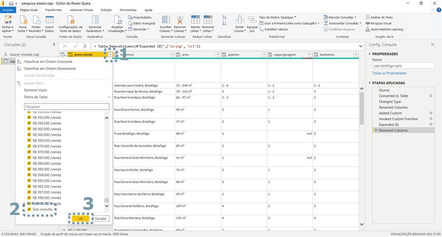 Guia passo a passo tratamento de dados com Power bi - figura 07